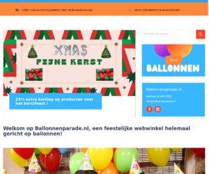 Ballonnen-parade.nl cashback