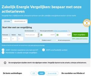 Minder.nl cashback