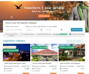 Hotelkamer veiling.nl cashback