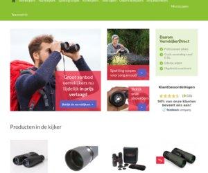 Verrekijkerdirect.nl cashback