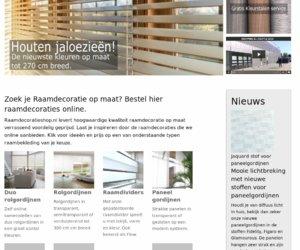 Raamdecoratieshop.nl cashback