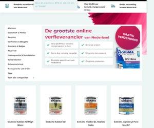 Verfwinkel.nl cashback