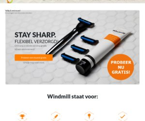 Windmill Shaving cashback