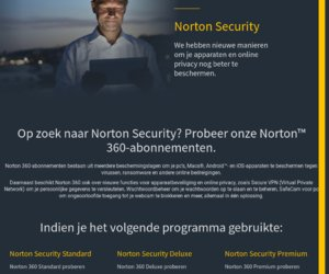 Norton by Symantec  Netherlands cashback