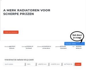 Radiatorendiscounter.nl cashback