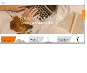 Weekendwebshop.nl cashback