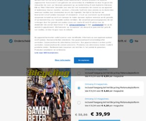 Bicycling.com/nl cashback