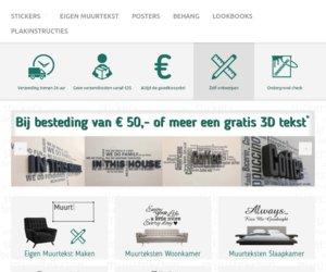 Muurteksten.nl cashback