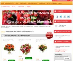 Flowerservice.nl cashback