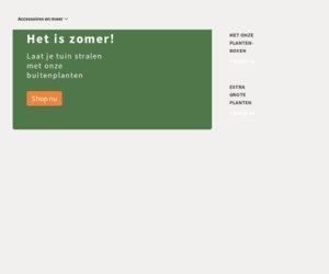 Plantje.nl cashback