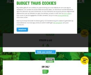 Budget Mobiel [Robin Mobile] cashback