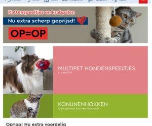 De huisdiersuper.nl cashback