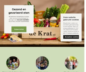DeKrat.nl cashback