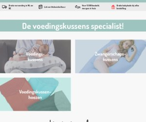 Voedingskussenwinkel.nl cashback