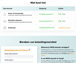 Bezwaarmaker.nl cashback