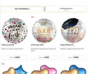 DeBallonnensite.nl cashback