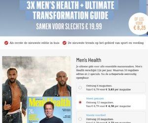 Menshealth.com/nl/ cashback