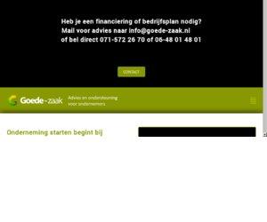 GoedeZaak.nl cashback