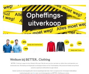 Betterclothing.nl cashback