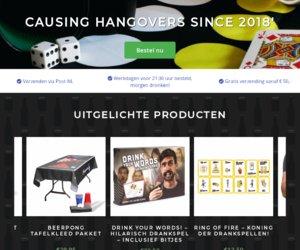 Drankspel.nl cashback