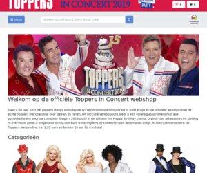 Webshoptoppersinconcert.nl cashback