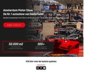 Amsterdammotorshow.nl cashback