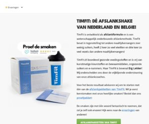 Timfit.com cashback