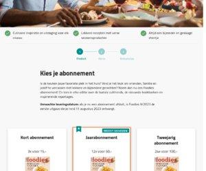 Foodies Magazine cashback