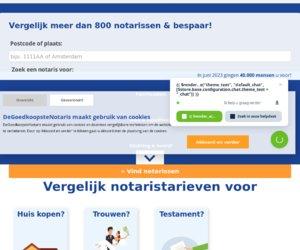 Degoedkoopstenotaris.nl cashback