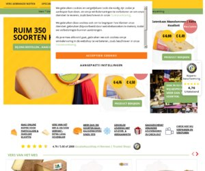 Goudsekaasshop.nl cashback
