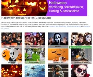 Halloween feestwinkel cashback