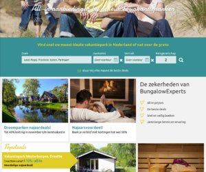 Bungalowexperts.nl cashback