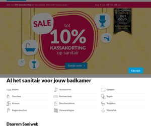 Saniweb cashback