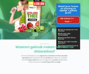Teatox.nl cashback