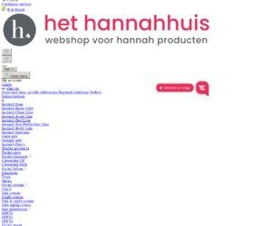 Hethannahhuis.nl cashback