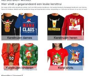 Kersttruienwinkel.nl cashback
