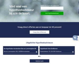 Hypotheekadviesnederland.nl cashback