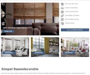 Simpelraamdecoratie.nl cashback