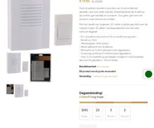 Koopditvandaag.nl cashback