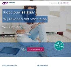 CNV Vakmensen cashback