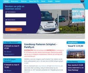 Parkfly.nl cashback