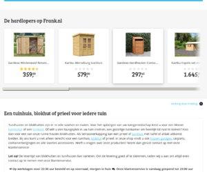 Tuinhuisexperts.nl cashback