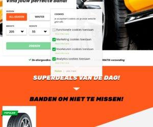 Bandenjager.nl cashback