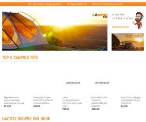 Camping Pro cashback