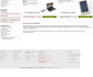 Zonnecelshop.nl cashback