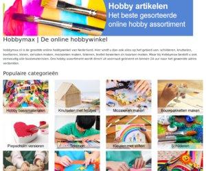 Hobbymax.nl cashback