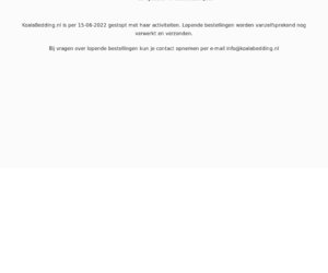 Koalabedding.nl cashback