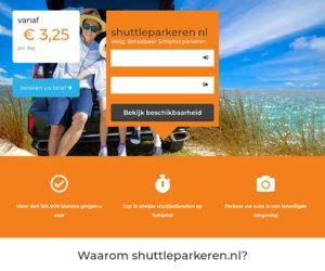 Shuttleparkeren.nl cashback
