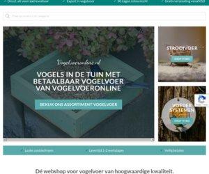 Vogelvoeronline.nl cashback