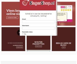 Slagershop.nl cashback